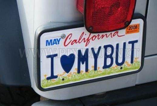 Funny license plates