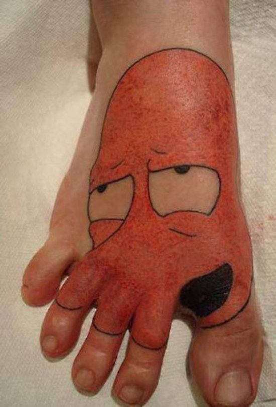 Clever and Funny Tattoos
