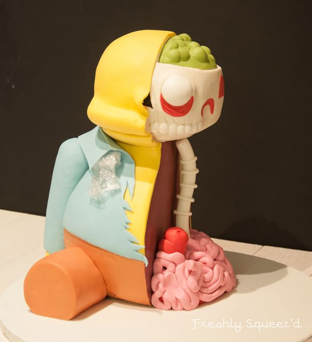 Ralph From The Simpsons Has Been Turned In A Cake And It's Creepy