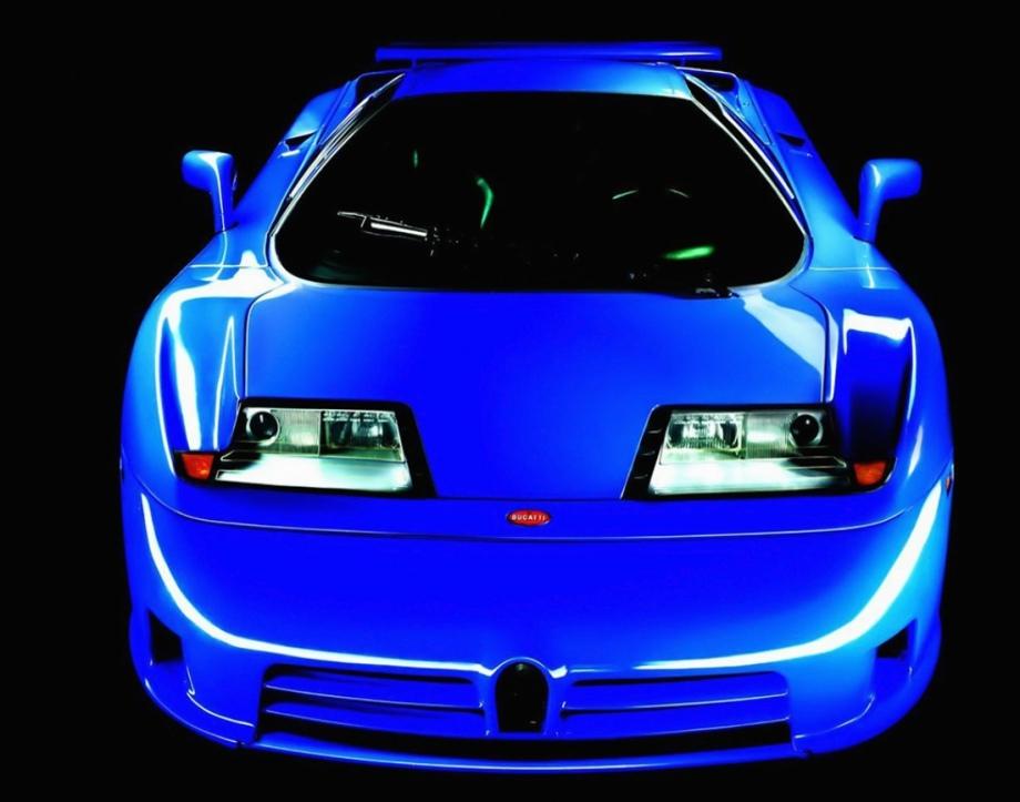 Bugatti EB110 GT/SS