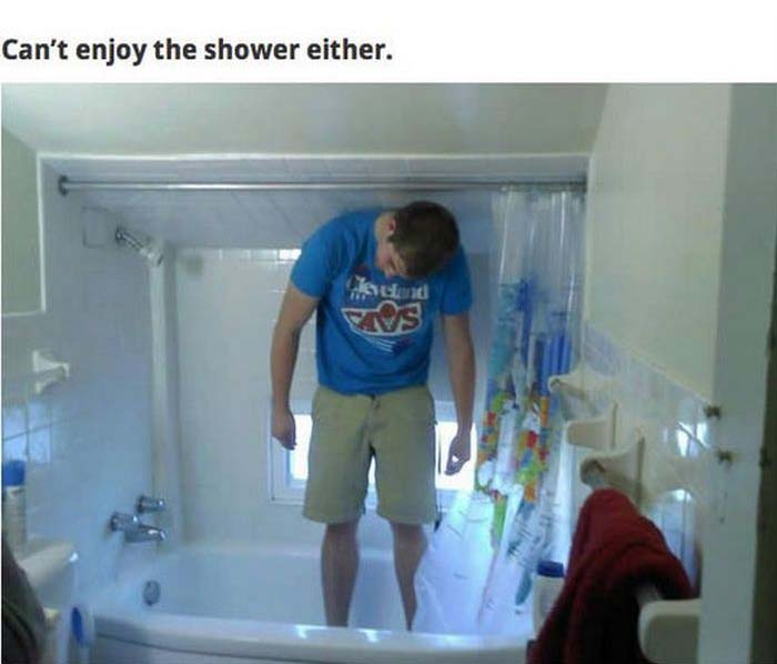 Problems That Only Tall People Can Relate To