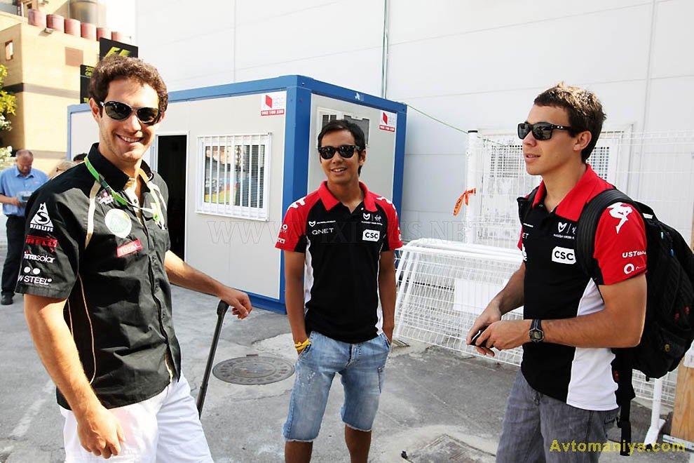 Formula 1 Grand Prix of Europe 2011 (training)