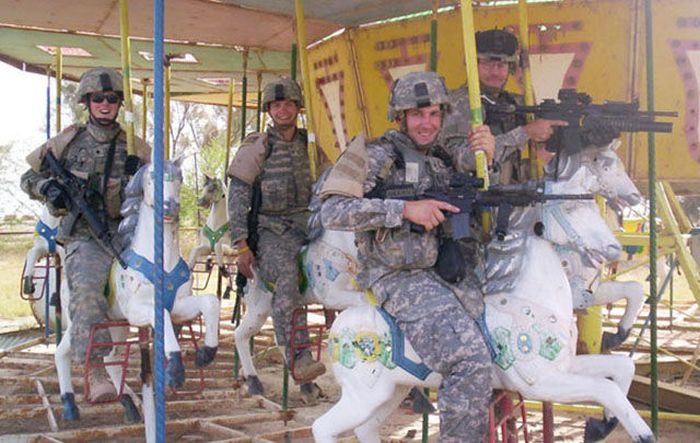 Resting Soldiers