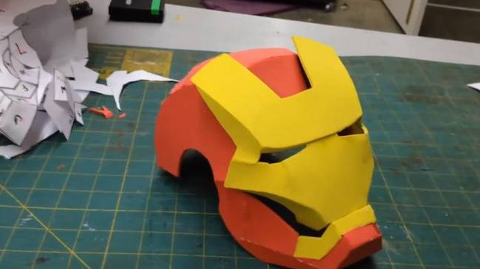 Father Makes Iron Man Costume For His Sick Infant Son