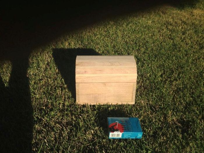How To Nail Your Marriage Proposal With A Homemade Treasure Chest