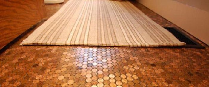 This Floor Is Completely Made Of Coins