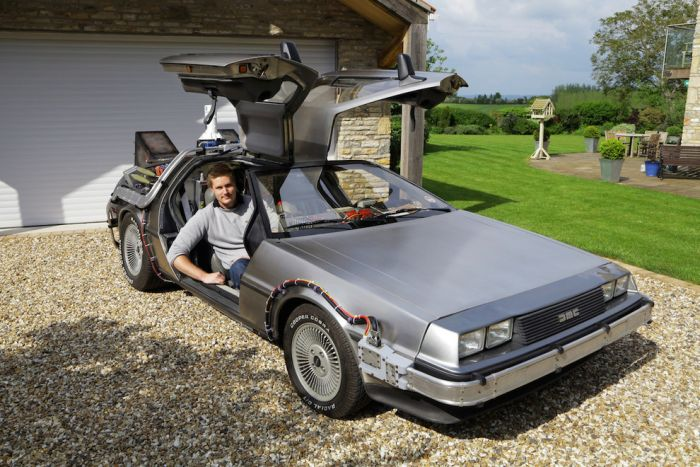 This Real Life 'Back To The Future' DeLorean Is A Dream Come True