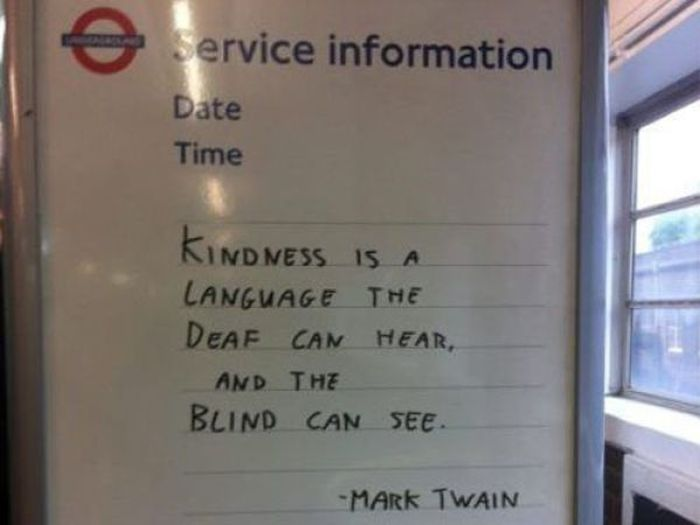 Kindness Makes The World Go Round