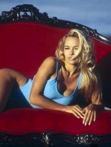Pamela Anderson - 20 years ago