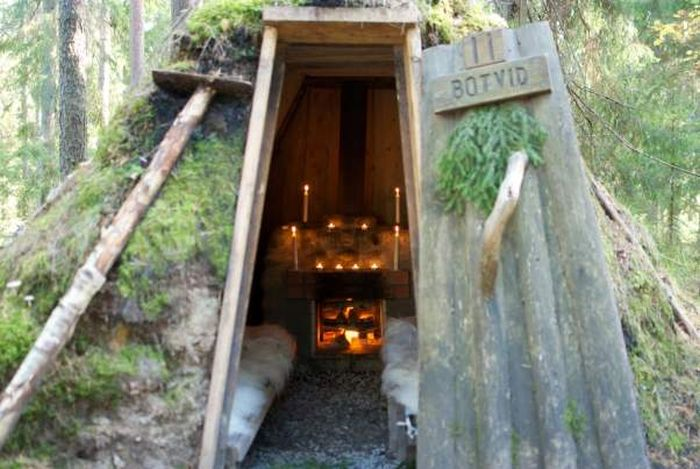 This Lodge In Sweden Gives You Hard Work To Help You Relax