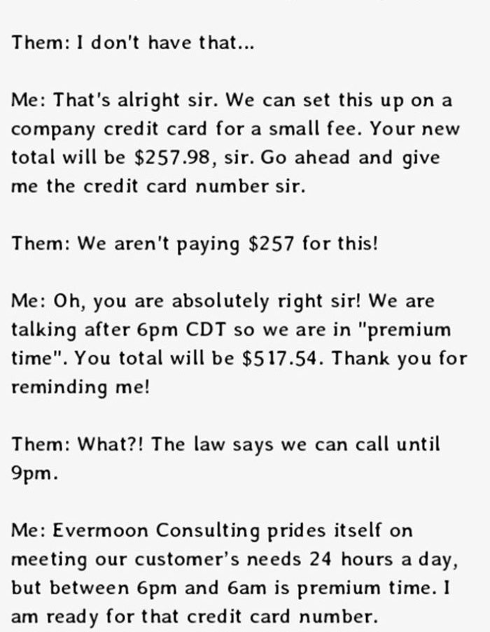 This Is The Perfect Way To Deal With Telemarketers