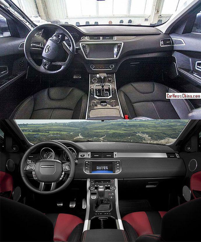 Range Rover Evoque replica
