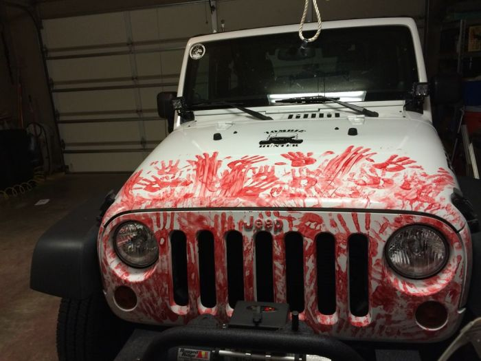 This Car Was Built For Zombie Hunting