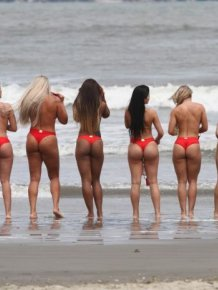 The Lovely Contestants From Miss Butt Brazil 2014