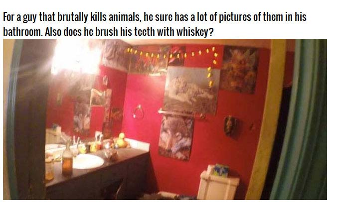 Disturbing Photos From Inside A Murderer's Home