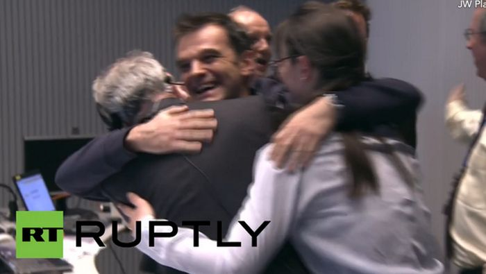 The Rosetta Probe Finally Lands On A Comet