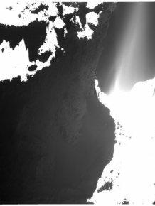 The Rosetta Probe Finally Lands On A Comet