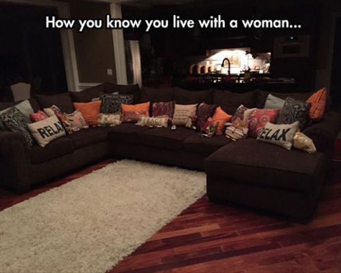 The Truth About Life With A Woman