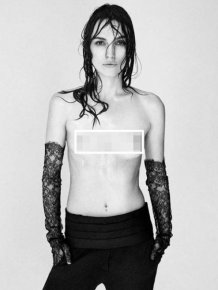 Keira Knightley Posing Topless Is The Internet's Newest Meme