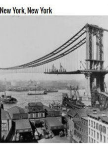 Pictures Of Famous Landmarks Before They Were Finished