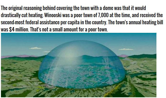 The Vermont Town That Wanted To Go Under The Dome Others