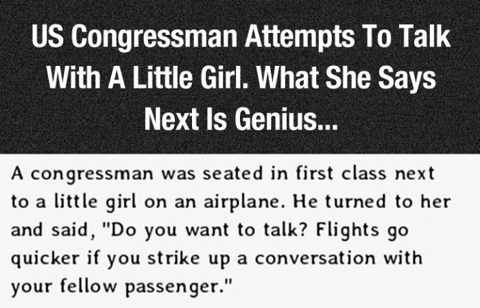 This Little Girl Spoke Some Serious Truth To A Congressman