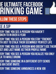 How To Turn Facebook Into A Drinking Game