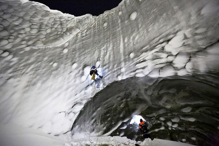 Getting Inside Siberia's Mystery Crater