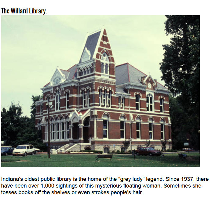 These Haunted Libraries Aren't Good Places To Study