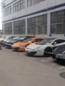 Police Confiscate Very Expensive Sports Cars