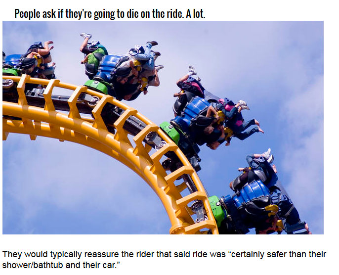 The Horrible Truth About Amusement Parks