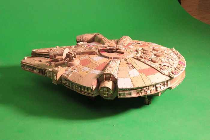 Check Out This Epic Millennium Falcon Replica