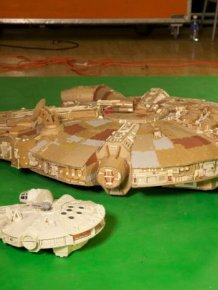Check Out This Epic Millennium Falcon Replica