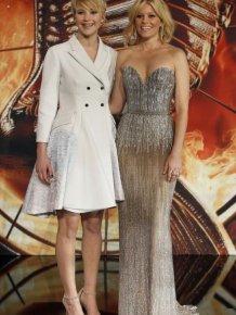 Jennifer Lawrence And Her Wild Wardrobe