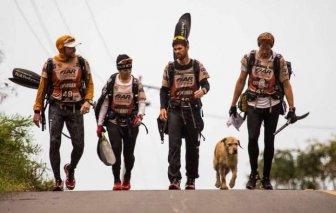 Stray Dog Joins Swedish Sports Team