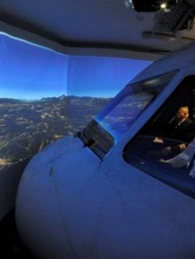 This Homemade Flight Simulator Is Amazing