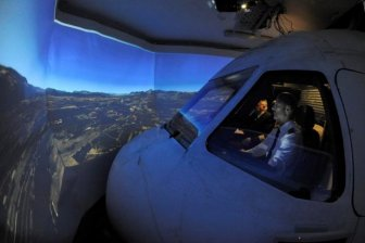 This Homemade Flight Simulator Is Amazing