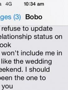 Guy Lays It All On The Line In This Breakup Text