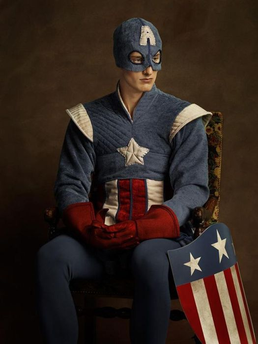 If Superheroes Existed In The 16th Century