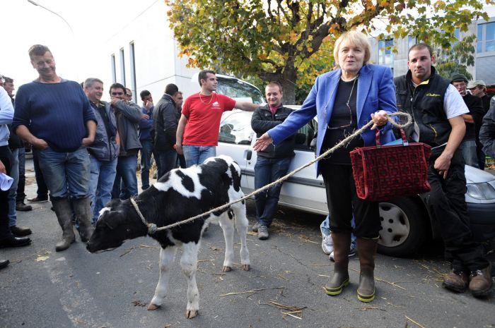 These French Farmers Are Very Angry