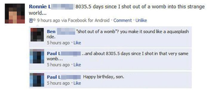 Parents Who Owned Their Kids On Facebook