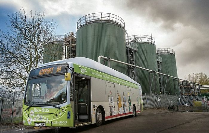 This Bio-Bus Is Powered By Human Waste