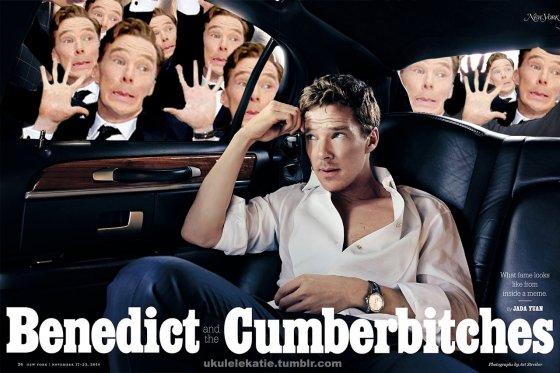 Benedict Cumberbatch Gets The Meme Treatment