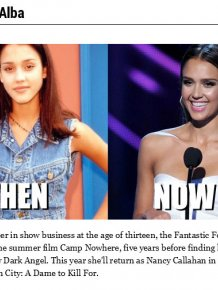 20 Celebrities In 1994 And In 2014