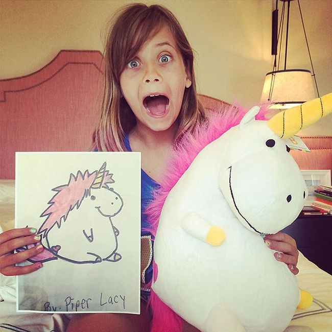Children's Drawings Get Turned Into Plush Toys