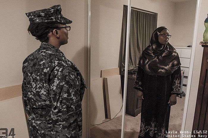 Meet The Real People Behind The Military Uniforms