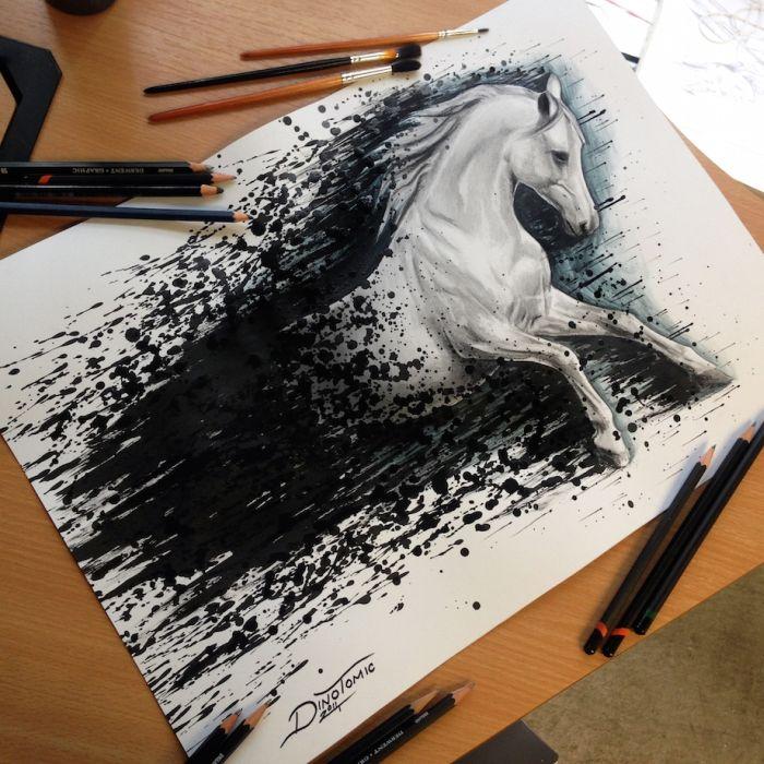 dino tomic s art looks so real art