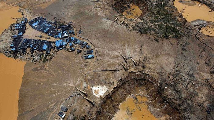 Illegal Gold Mining Is Destroying Peru