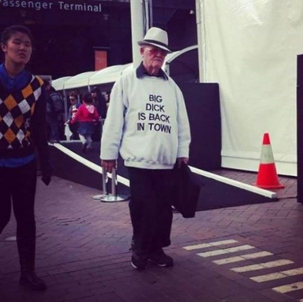 These Old People Have No Idea How Awesome Their Clothes Are
