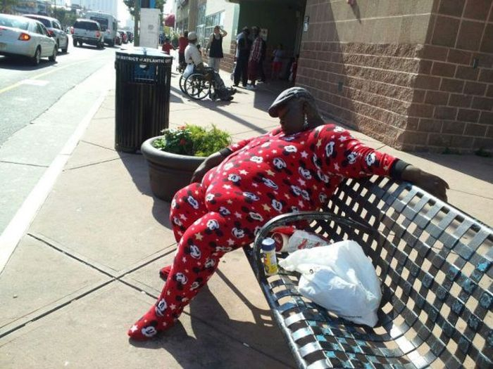 These People Picked The Weirdest Places To Sleep
